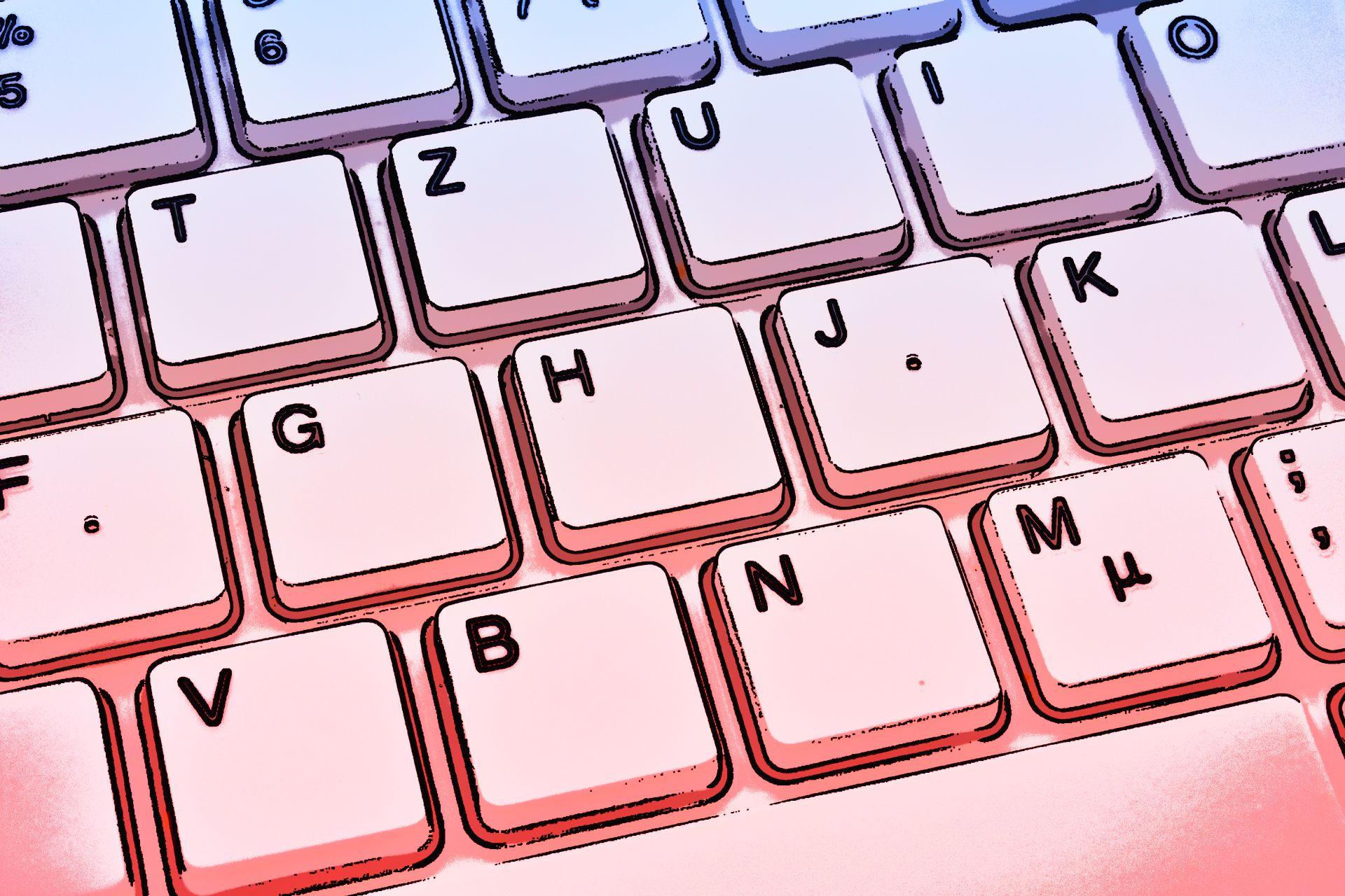 Kategorie (Tastatur blau-rot)